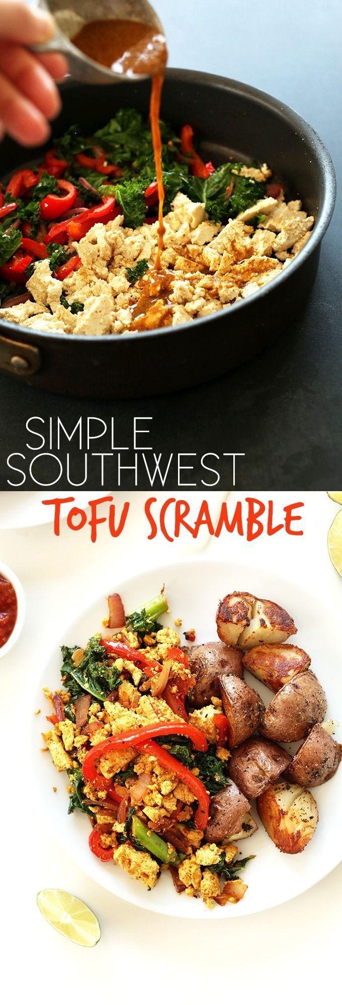 Foodie Tuesdays: Southwestern Tofu Scramble